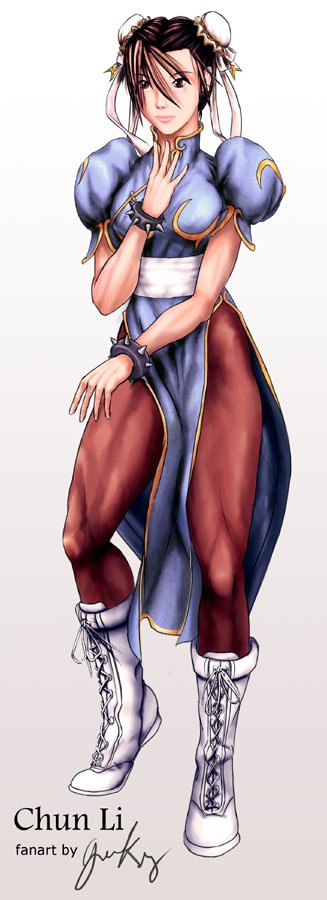 Chun-Li From Street Fighter